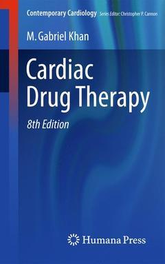 Couverture de l'ouvrage Cardiac Drug Therapy