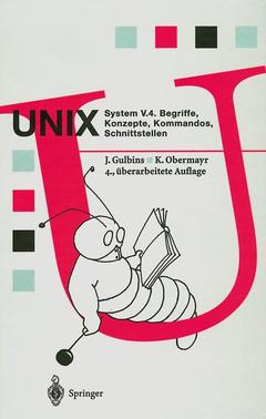 Cover of the book Unix system v 4: begriffe, konzepte, kommandos, schnittstellen (4th ed )
