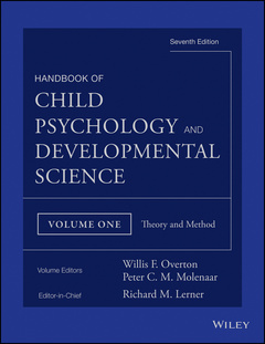 Couverture de l'ouvrage Handbook of Child Psychology and Developmental Science