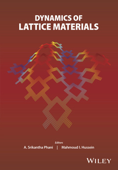 Cover of the book Dynamics of Lattice Materials