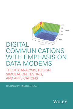 Cover of the book Digital Communications with Emphasis on Data Modems