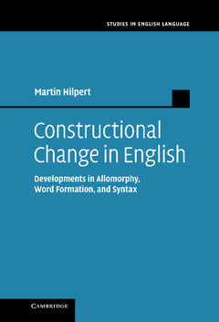 Cover of the book Constructional Change in English