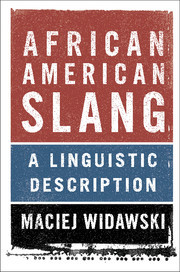 Cover of the book African American Slang