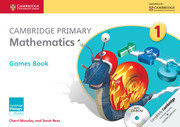Couverture de l'ouvrage Cambridge Primary Mathematics Stage 1 Games Book with CD-ROM