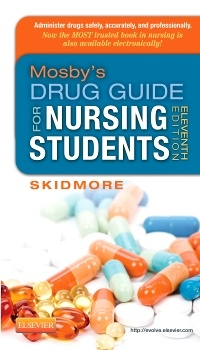 Cover of the book Mosby's Drug Guide for Nursing Students