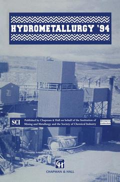 Cover of the book Hydrometallurgy '94