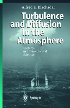Cover of the book Turbulence & diffusion in the atmosphere (with 2 MS DOS program diskettes) (corr. 2nd printing of the 1st edition 1998)
