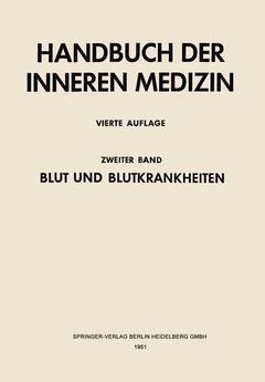 Couverture de l'ouvrage Blut und Blutkrankheiten. 0