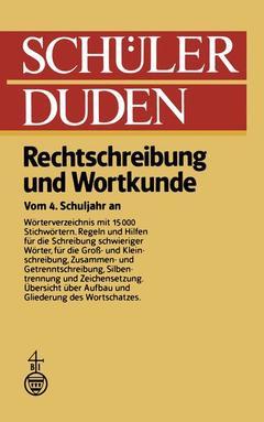 Schüler Duden Berger Dieter