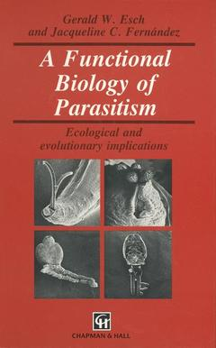 Couverture de l'ouvrage Functional biology of parasitism (bound)