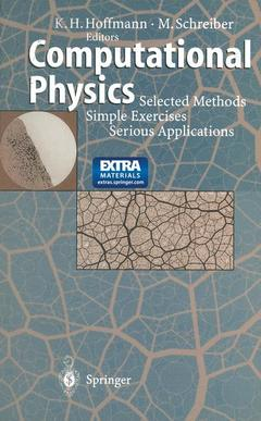 Couverture de l'ouvrage Computational physics : selected methods simple exercises-serious applications (incl. 3.5 MS-DOS disk)