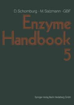 Couverture de l'ouvrage Enzyme Handbook