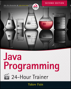 Couverture de l'ouvrage Java Programming 24-Hour Trainer