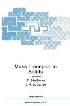 Couverture de l'ouvrage Mass Transport in Solids