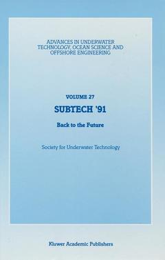 Cover of the book SUBTECH '91