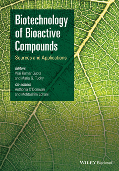 Couverture de l'ouvrage Biotechnology of Bioactive Compounds
