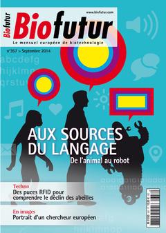 Couverture de l'ouvrage Biofutur N° 357 (Septembre 2014)