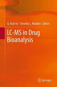 Couverture de l'ouvrage LC-MS in drug bioanalysis