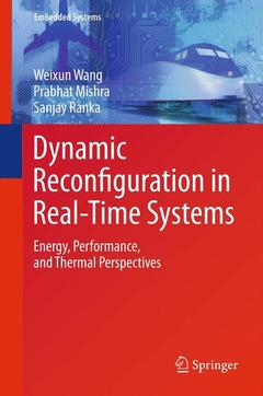 Couverture de l'ouvrage Dynamic Reconfiguration in Real-Time Systems