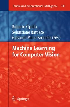 Couverture de l'ouvrage Machine Learning for Computer Vision