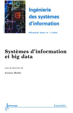 Couverture de l'ouvrage Ingénierie des systèmes d'information RSTI série ISI Volume 19 N° 3/Mai-Juin 2014