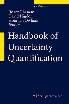Cover of the book Handbook of Uncertainty Quantification  (3 volume set)