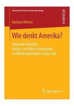 Couverture de l'ouvrage Wie denkt Amerika?