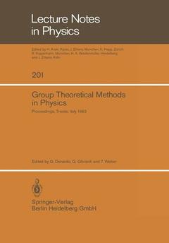 Couverture de l'ouvrage Group Theoretical Methods in Physics