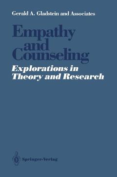 Cover of the book Empathy and Counseling