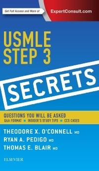 Couverture de l'ouvrage USMLE Step 3 Secrets
