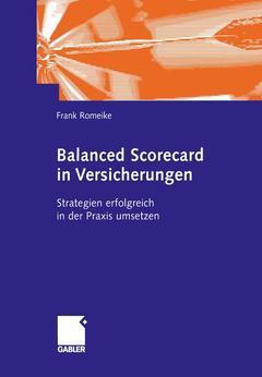 Couverture de l'ouvrage Balanced Scorecard in Versicherungen