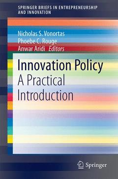 Cover of the book Innovation Policy