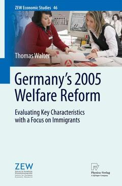 Cover of the book Germany's 2005 welfare reform