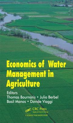 Couverture de l'ouvrage Economics of Water Management in Agriculture