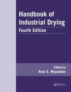 Couverture de l'ouvrage Handbook of Industrial Drying