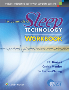 Cover of the book Fundamentals of Sleep Technology Workbook