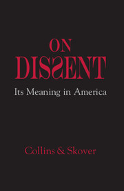 Cover of the book On Dissent