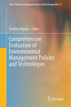 Cover of the book Comprehensive Evaluation of Environmental Management Policies and Technologies