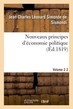 Cover of the book Nouveaux principes d'economie politique v2