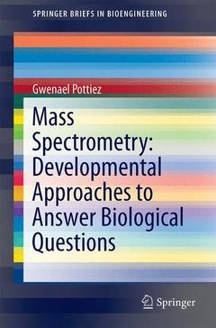 Couverture de l'ouvrage Mass Spectrometry