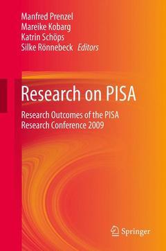 Couverture de l'ouvrage Research on pisa
