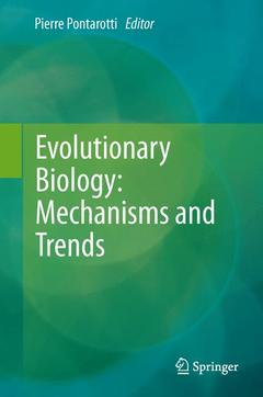 Cover of the book Evolutionary biology - mechanisms and trends