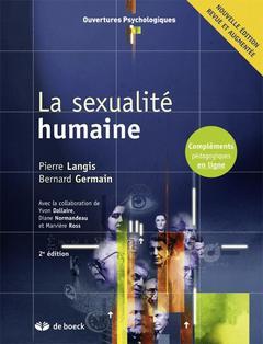 Couverture de l'ouvrage La sexualité humaine