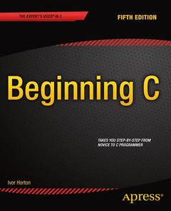 Cover of the book Beginning C, 5th Edition