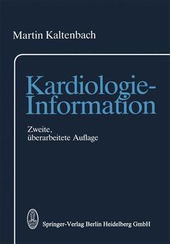 Couverture de l'ouvrage Kardiologie-information (2nd ed )