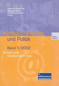 Couverture de l'ouvrage Schwerpunkt: Wahlkampf im Netz