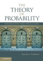 Couverture de l'ouvrage The Theory of Probability