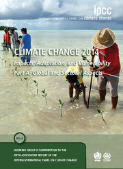 Cover of the book Climate Change 2014: Impacts, Adaptation and Vulnerability: Volume 1, Global and Sectoral Aspects