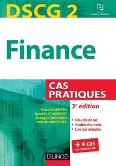 Couverture de l'ouvrage DSCG 2 - Finance