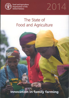 Couverture de l'ouvrage The state of food and agriculture 2014